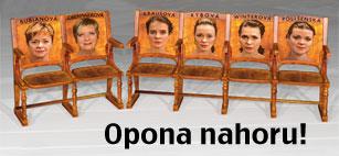 Jaroslava Obermaierová, Jana Krausová, Linda Rybová, Kateřina Winterová, Lucie Polišenská: Opona nahoru!