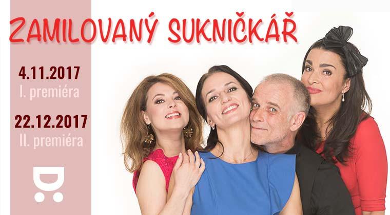 Zamilovaný sukničkář - 4.11.2017  I. premiéra & 22.12.2017 II. premiéra, Divadelní spolek Háta