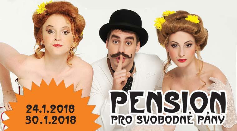 24.1. a 30.1. - Pension pro svobodné pány - PREMIÉRA