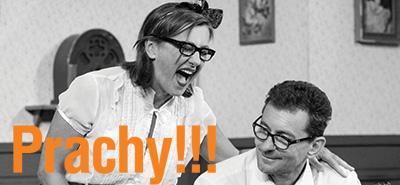 Ray Cooney: Prachy ! ! ! - Vanda Hybnerová, Ondřej Vetchý, Richard Trsťan, Michal Novotný, Jiří Štrébl, Sabina Laurinová / Nela ...