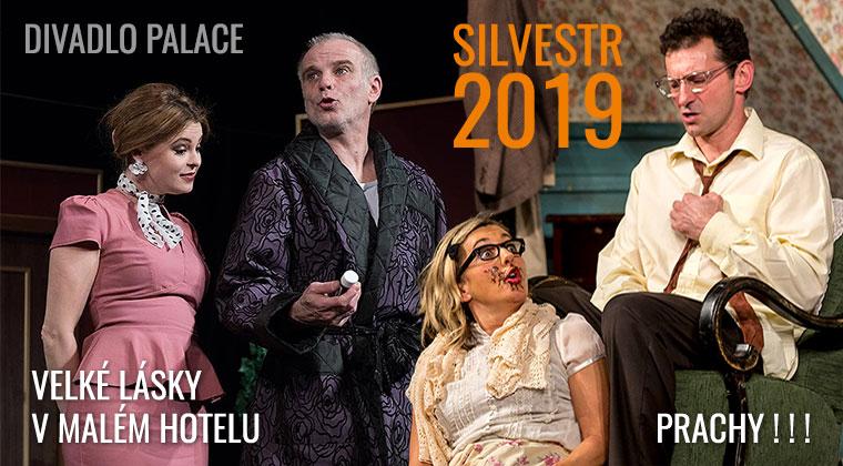 Silvestr 2019 v divadle Palace - přijďte se rozesmát do Nového roku