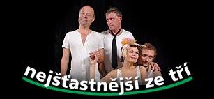 Eugéne Labiche: Nejšťastnější ze tří - Ivan Řezáč, Michal Dlouhý, Simona Postlerová  a Kamil Halbich